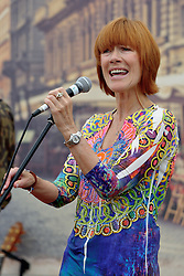 Image ©Licensed to i-Images Picture Agency. 04/07/2014. Oxford, United Kingdom. Cornbury Festival. Kikee Dee performs at Cornbury Music Festival. Picture by i-Images