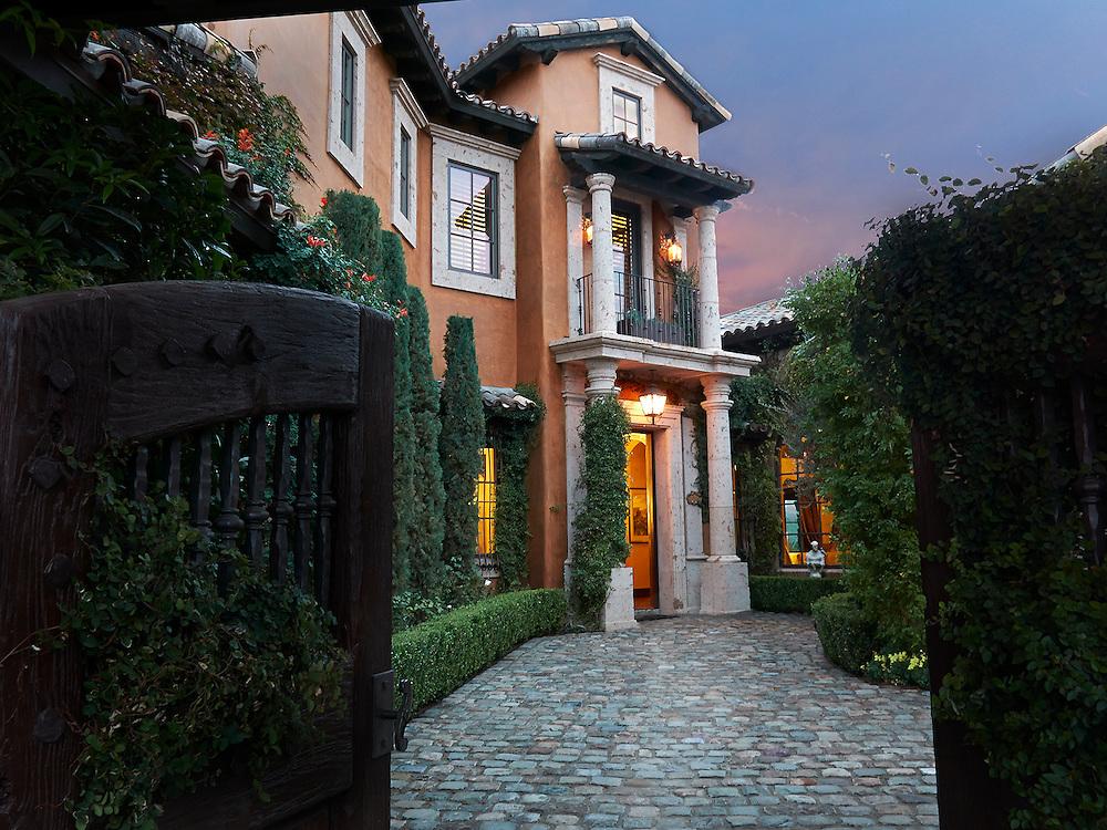 European style luxury home .