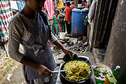 Bangladesh, cooking with LPG.