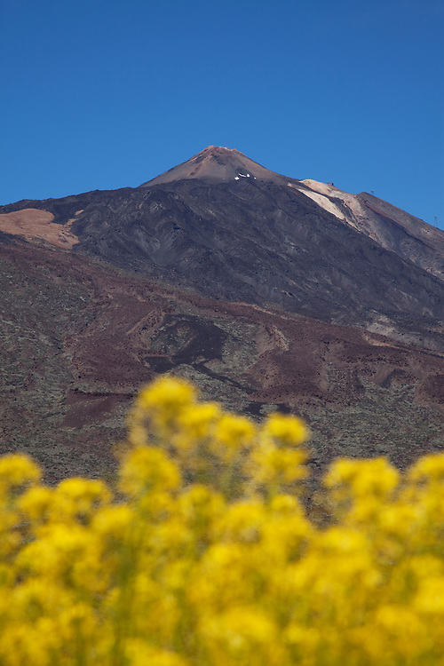 Teide volcano, Teide National Park, Tenerife.