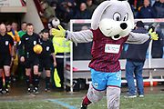 The Scunthorpe United Mascot runs out before  the EFL Sky Bet League 1 match between Scunthorpe United and Shrewsbury Town at Glanford Park, Scunthorpe, England on 17 March 2018. Picture by Mick Atkins.