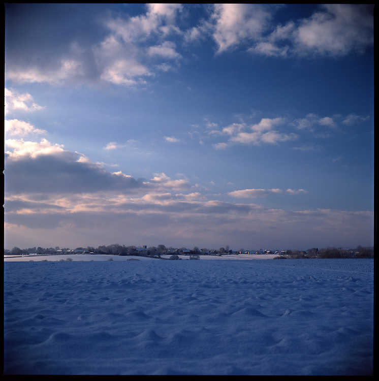 Blue Winter Sky