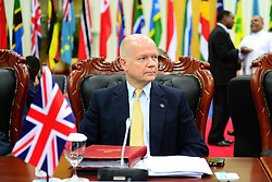 60719357  British Foreign Secretary William Hague attends the Commonwealth Heads of Government Meeting in Colombo, Sri Lanka, Nov. 15, 2013. The three-day meeting opened here on Friday, 15th November 2013. Picture by  imago / i-Images<br /> UK ONLY