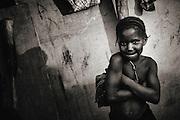 Bijagos Islands in Guinea Bissau, visiting a local village.