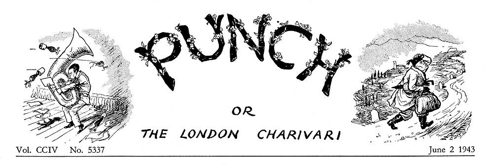 (Charivaria heading 2 June 1943)