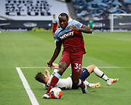 West Ham's Michail Antonio during the Premier League match at the Tottenham Hotspur Stadium, London. Picture date: 23rd June 2020. Picture credit should read: David Klein/Sportimage