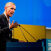 Milano 09/05/2017 Rho Fiera, The Global Food Innovation Summit Milano; Seeds & Chips; Barack Obama speech