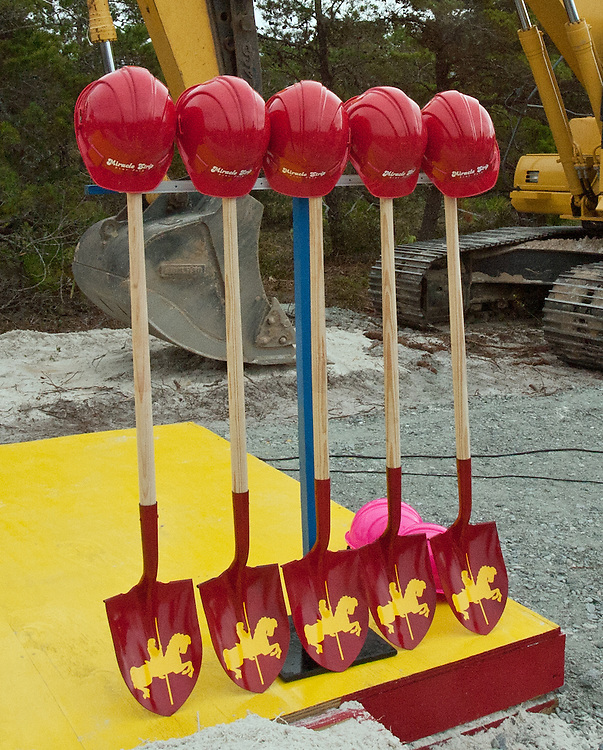 Ground Breaking of the new, expanded Miracle Strip Amusement Park at Pier Park Panama City Beach Florida