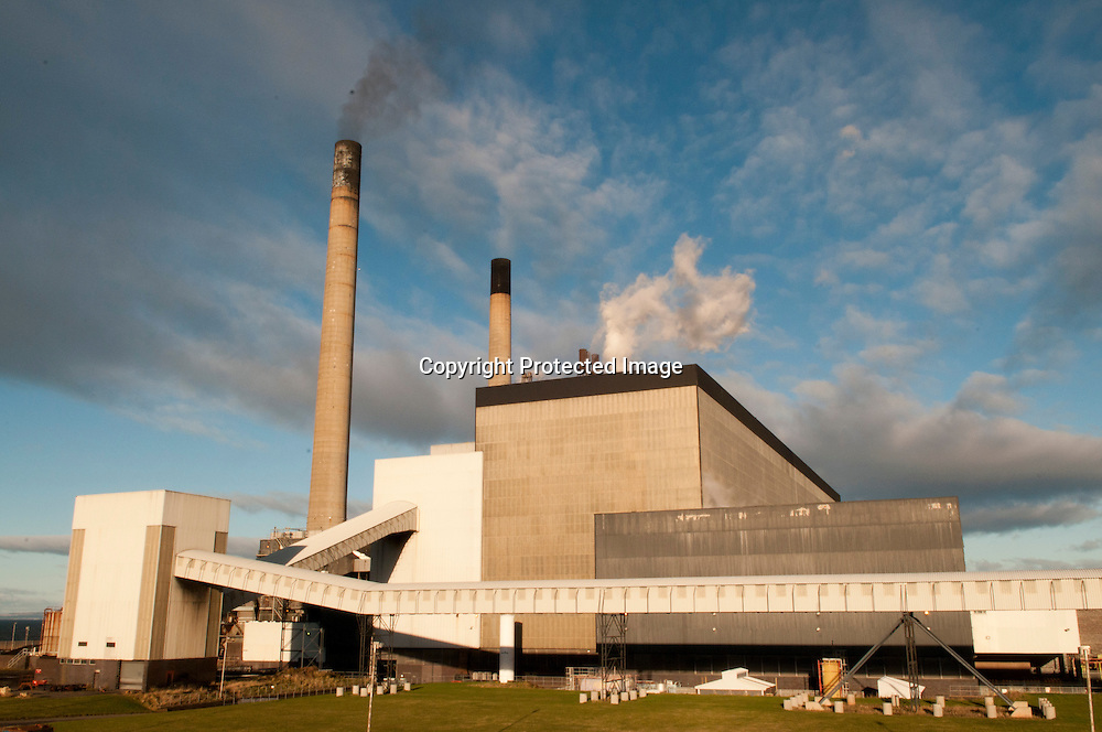 Cockenzie Power Station.Coal Fired Power Station in East Lothian run by Scottish Power and soon to be decommisioned..Picture by Alex Hewitt.alex.,hewitt@gmail.com.07789871540