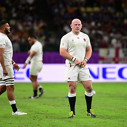 Dan COLE of England during the Rugby World Cup 2019 Quarter Final match between England and Australia on October 19, 2019 in Oita, Japan. (Photo by Dave Winter/Icon Sport) - Dan COLE - Oita Stadium - Oita (Japon)
