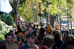 This view soutmon Germantown Avenue gives an impression of the crowds that came to the sixthHarry Porter fan Festival on Saturday. (Bastiaan Slabbers/for PhillyVoice)
