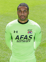 Gino Coutinho during the team photocall of AZ Alkmaar on July 17, 2015 at Afas Stadium in Alkmaar, The Netherlands