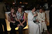 Angela Rose, My Alehammar, Nicolette Spillane and Millicent Mathews.  New Collectors Evening. Grosvenor House Antiques Fair. Park Lane. 19 June 2007.  -DO NOT ARCHIVE-© Copyright Photograph by Dafydd Jones. 248 Clapham Rd. London SW9 0PZ. Tel 0207 820 0771. www.dafjones.com.