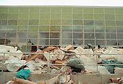 Duitsland, Hannover expo 2000, mei 2000.Afval achter het Engels paviljoenFoto: Flip Franssen/Hollandse Hoogte