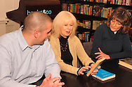 (from left) Steve Turek of Oakwood, Bonnie Doczy of Springboro and Donna Beddies of Dayton during a meeting of the Classics Book Club at Books & Company in The Greene, Monday, March 5, 2012.