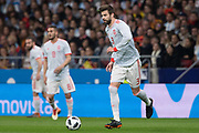 Gerard Pique of Spain during the International friendly game football match between Spain and Argentina on march 27, 2018 at Wanda Metropolitano Stadium in Madrid, Spain - Photo Rudy / Spain ProSportsImages / DPPI / ProSportsImages / DPPI