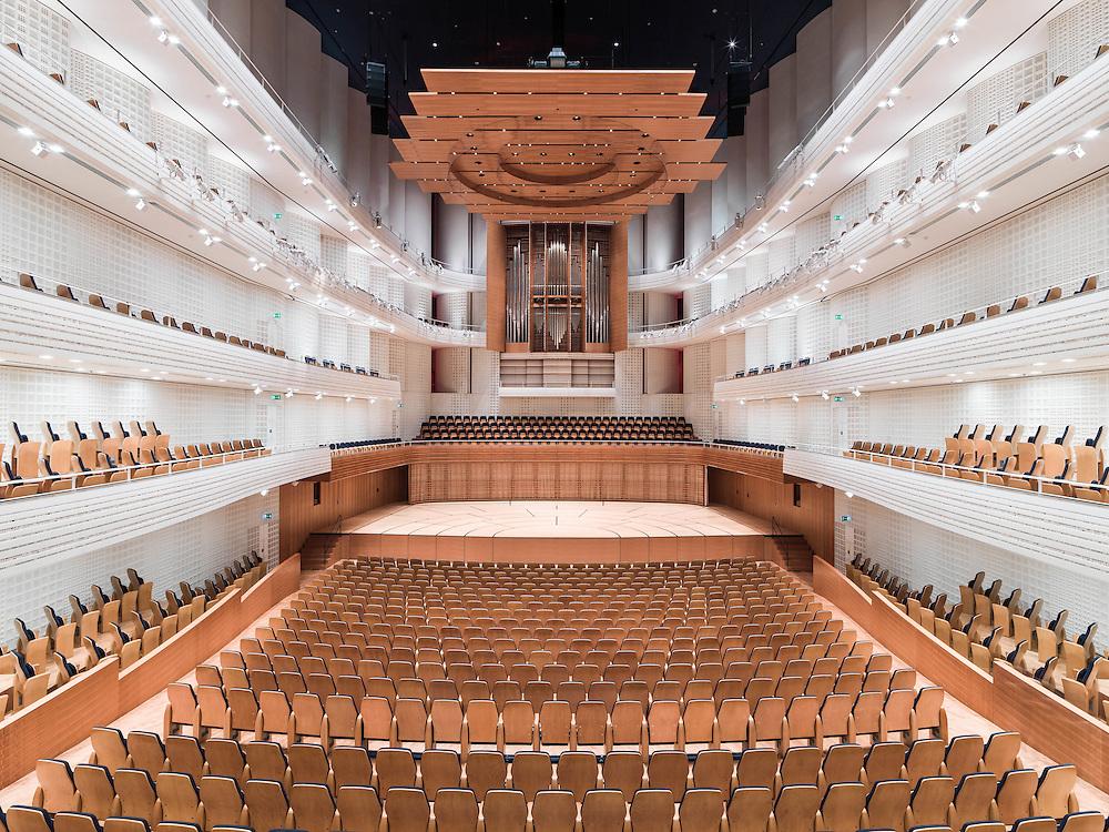Konzertsaal > Architekt: Jean Nouvell, Paris
