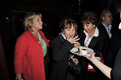 Left to right, ROSIE BOYCOTT, BARONESS HELENA KENNEDY and KATHY LETTE at the gala night party of Losing It staring Ruby Wax held at he Menier Chocolate Factory, 51-53 Southwark Street, London SE1 on 23rd February 2011.