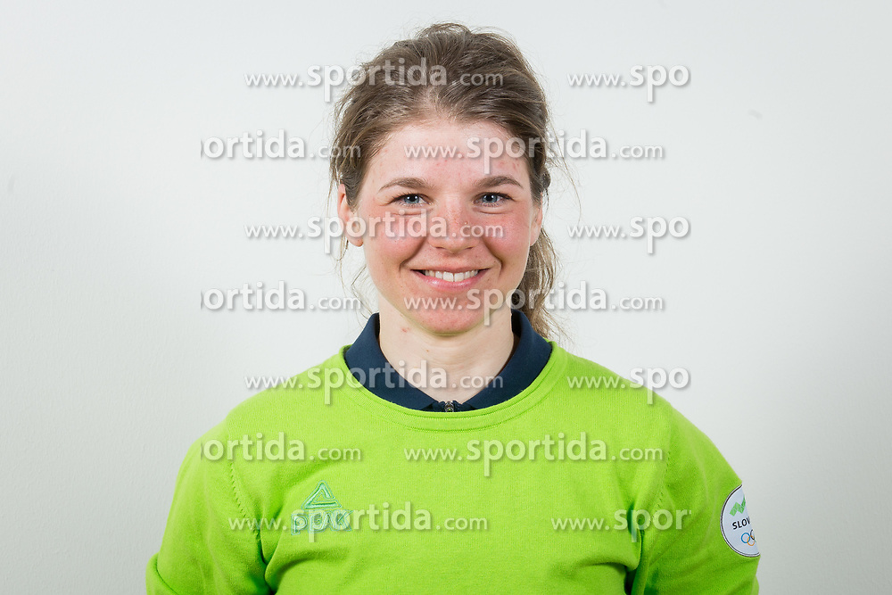 Alenka Cebasek during the outfitting of the Slovenian Olympic Team for PyeongChang 2018, on January 29, 2018 in GH Union, Ljubljana, Slovenia. Photo by Urban Urbanc / Sportida