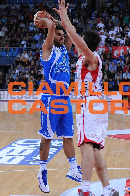 DESCRIZIONE : Pesaro Lega A 2012-13 Scavolini Banca Marche Pesaro Banco di Sardegna Sassari<br /> GIOCATORE : Brian Sacchetti<br /> CATEGORIA : passaggio<br /> SQUADRA : Banco di Sardegna Sassari<br /> EVENTO : Campionato Lega A 2012-2013 <br /> GARA : Scavolini Banca Marche Pesaro Banco di Sardegna Sassari<br /> DATA : 28/10/2012<br /> SPORT : Pallacanestro <br /> AUTORE : Agenzia Ciamillo-Castoria/M.Marchi<br /> Galleria : Lega Basket A 2012-2013  <br /> Fotonotizia : Pesaro Lega A 2012-13 Scavolini Banca Marche Pesaro Banco di Sardegna Sassari