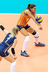 07-10-2018 JPN: World Championship Volleyball Women day 8, Nagoya<br /> Netherlands - Puerto Rico 3-0 / Anne Buijs #11 of Netherlands