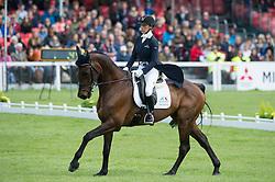 Hankey Dee, (GBR), Chequers Playboy<br /> Dressage <br /> Mitsubishi Motors Badminton Horse Trials - Badminton 2015<br /> © Hippo Foto - Jon Stroud<br /> 07/05/15