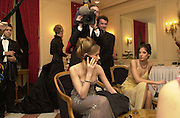 Marine Sulitzer. Crillon Haute Couture Ball. Crillon Hotel, Paris. 2 December 2000. © Copyright Photograph by Dafydd Jones 66 Stockwell Park Rd. London SW9 0DA Tel 020 7733 0108 www.dafjones.com
