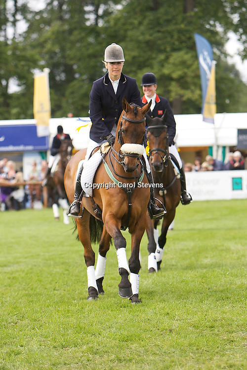 Clea Phillips and Lead The Way  Bramham International Horse Trials 2011