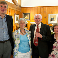 FREE TO USE PHOTOGRAPH....The House of Bruar Helping Scottish Wildlife Trust's Saving Scotland's Red Squirrels Campaign<br /> Pictured from left Tim Hailey, Margot Hailey, Patric Baird (correct spelling) and Ann Baird<br /> Picture by Graeme Hart.<br /> Copyright Perthshire Picture Agency<br /> Tel: 01738 623350  Mobile: 07990 594431
