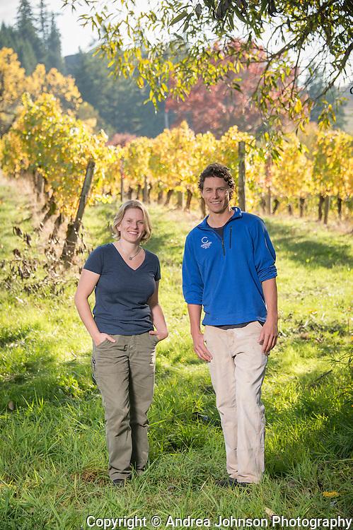 Wynne Peterson-Nedry & Chad Douglas, Chehalem Wines, Willamette Valley, Oregon
