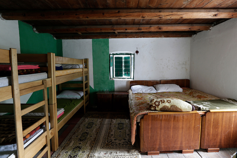 Guest rooms at 'Ramica Dvori', traditionally renovated guesthouse, Paklenica National Park, Croatia.