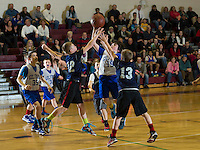 Francoeur Babcock Basketball Tournament at Gilford Middle School.  Karen Bobotas/for the Laconia Daily Sun