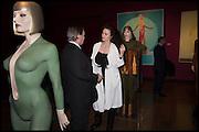 JAMES BIRCH; ELEESA DADIANI, Allen Jones private view. Royal Academy,  London. 11 November  2014.