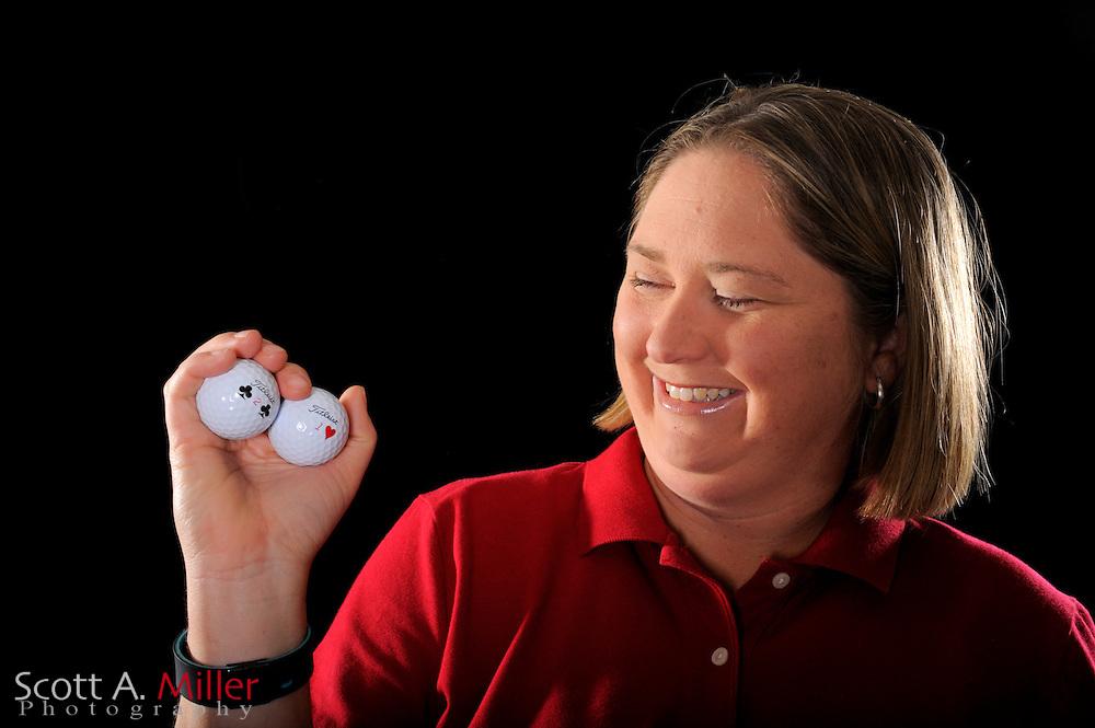 Kelly Lagedrost during a portrait shoot prior to the LPGA Futures Tour's Daytona Beach Invitational at LPGA International's Championship Courser on March 29, 2011 in Daytona Beach, Florida... ©2011 Scott A. Miller