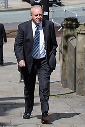 © Licensed to London News Pictures . 30/05/2015 . Manchester , UK . John Bowe arriving . A public memorial for Coronation Street actress Anne Kirkbride at Manchester Cathedral , who died on 19th January 2015 . Photo credit : Joel Goodman/LNP