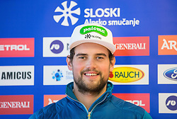 Bostjan Kline during official presentation of the outfits of the Slovenian Ski Teams before new season 2016/17, on October 18, 2016 in Planica, Slovenia. Photo by Vid Ponikvar / Sportida