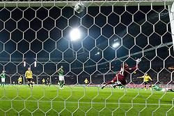 14.10.2011, Weser Stadion, Bremen, GER, 1.FBL, Werder Bremen vs Borussia Dortmund, im Bild.0:1 durch Ivan Perisic (Dortmund #14) gegen Andreas Wolf (Bremen #23) und Sokratis (Bremen #22).// during the Match GER, 1.FBL, Werder Bremen vs Borussia Dortmund on 2011/10/14,  Weser Stadion, Bremen, Germany..EXPA Pictures © 2011, PhotoCredit: EXPA/ nph/  Kokenge       ****** out of GER / CRO  / BEL ******