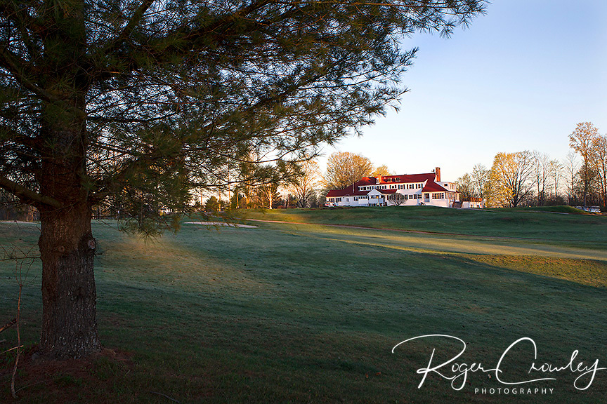May sunrise at the Country Club of Barre in Plainfield, VT.