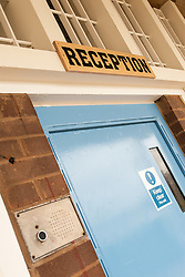 Reception, HMP Newport, Isle of Wight