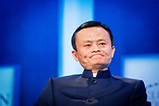 Jack Ma, founder of the Chinese online shopping giant Alibaba at the Clinton Global Initiative.