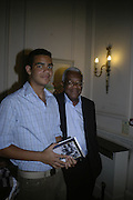 Hilary and Trevor Macdonald, Book launch for 'Shark Infested Waters' by Michael Whitehall. Belgrave Sq. London. 12 June 2007.  -DO NOT ARCHIVE-© Copyright Photograph by Dafydd Jones. 248 Clapham Rd. London SW9 0PZ. Tel 0207 820 0771. www.dafjones.com.