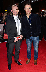 Jon Lee and guest attend White Christmas Press Night at The Dominion Theatre, Tottenham Court Road, London on Wednesday 12 November 2014