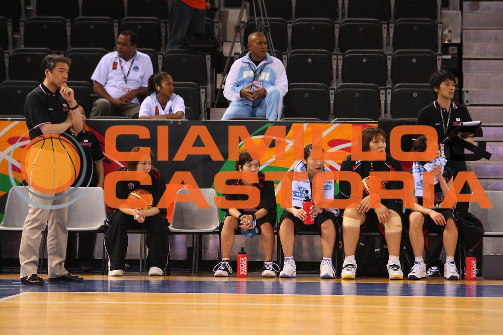 DESCRIZIONE : Madrid 2008 Fiba Olympic Qualifying Tournament For Women Senegal Japan <br /> GIOCATORE : Reserve Bench Riserve <br /> SQUADRA : Japan Giappone <br /> EVENTO : 2008 Fiba Olympic Qualifying Tournament For Women <br /> GARA : Senegal Japan Giappone <br /> DATA : 10/06/2008 <br /> CATEGORIA : <br /> SPORT : Pallacanestro <br /> AUTORE : Agenzia Ciamillo-Castoria/S.Silvestri <br /> Galleria : 2008 Fiba Olympic Qualifying Tournament For Women <br /> Fotonotizia : Madrid 2008 Fiba Olympic Qualifying Tournament For Women Senegal Japan <br /> Predefinita :