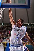 DESCRIZIONE : Cagliari Qualificazione Eurobasket 2009 Serbia Italia <br /> GIOCATORE : Luigi Datome <br /> SQUADRA : Nazionale Italia Uomini <br /> EVENTO : Raduno Collegiale Nazionale Maschile <br /> GARA : Serbia Italia Serbia Italy <br /> DATA : 20/08/2008 <br /> CATEGORIA : Schiacciata <br /> SPORT : Pallacanestro <br /> AUTORE : Agenzia Ciamillo-Castoria/S.Silvestri <br /> Galleria : Fip Nazionali 2008 <br /> Fotonotizia : Cagliari Qualificazione Eurobasket 2009 Serbia Italia <br /> Predefinita :