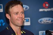 AB De Villiers Post T20 MAtch Press Conference - 18 Feb 2017