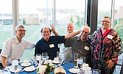Class of 1971 reunion in the Hemmingson Center on Sept. 10. (Photo by Edward Bell)