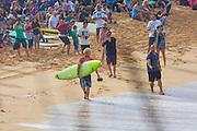John John Florence, Quicksilver Eddie Aukau Big Wave Surf Contest, Waimea Bay, North Shore, Oahu, Hawaii
