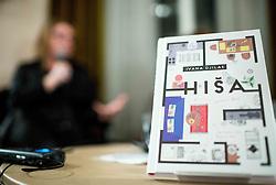 Predstavitev knjige Hiša avtorice Ivane Djilas // presentation of Ivana Djilas's new book named Hiša (House), on February 15, 2017 in Ljubljana, Slovenia. Photo by Vid Ponikvar / Sportida