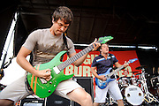 August Burns Red performing on Warped Tour at Verizon Wireless Amphitheater in St. Louis, Missouri on August 3, 2011. © Todd Owyoung.