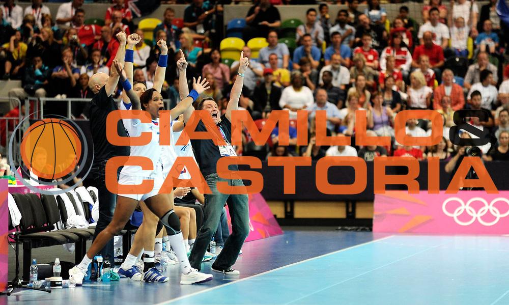 DESCRIZIONE : France Hand Jeux Olympiques Londres <br /> GIOCATORE : KRUMBHOLZ Eric FRA<br /> SQUADRA : France Femme<br /> EVENTO : FRANCE Hand Jeux Olympiques<br /> GARA : FRANCE NORVEGE<br /> DATA : 28 07 2012<br /> CATEGORIA : Hand Jeux Olympiques<br /> SPORT : Handball<br /> AUTORE : JF Molliere <br /> Galleria : France Hand 2011-2012 Action<br /> Fotonotizia : France Hand Femme Hand Jeux Olympiques Londres